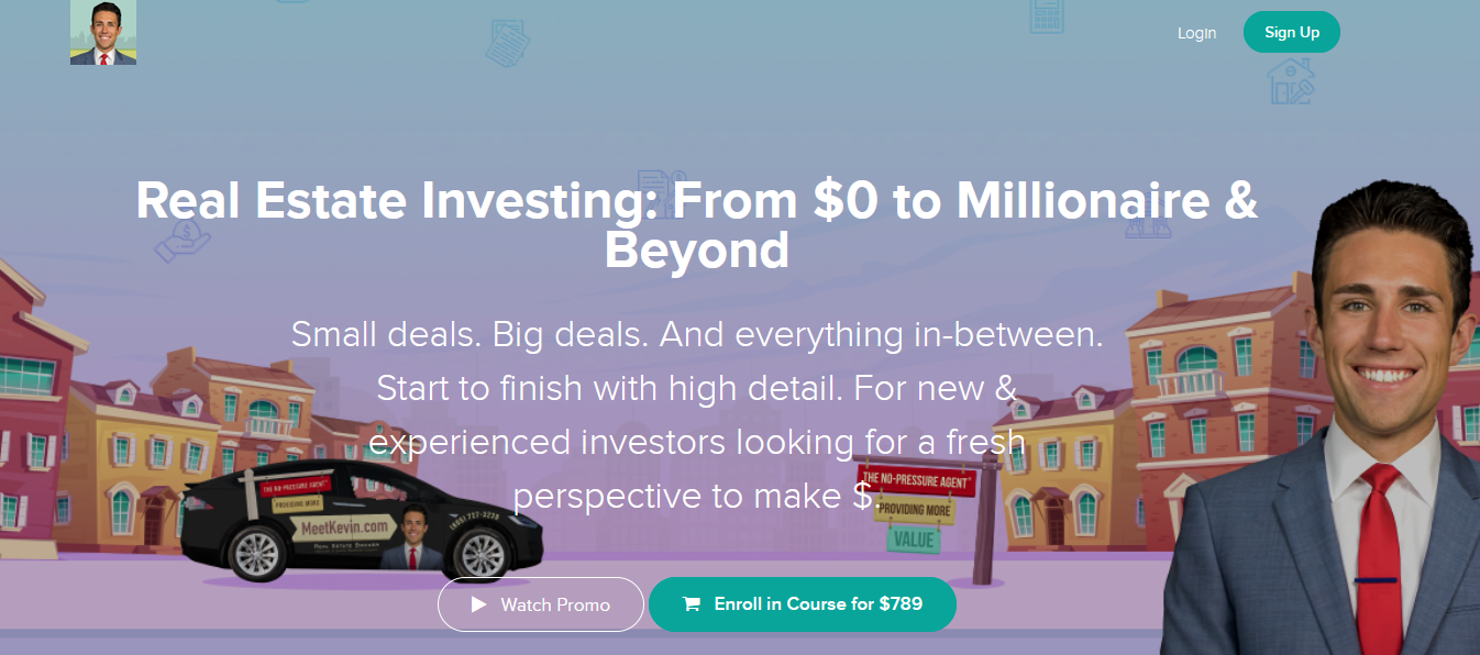 Meet Kevin - Real Estate Investing: From $0 to Millionaire & Beyond