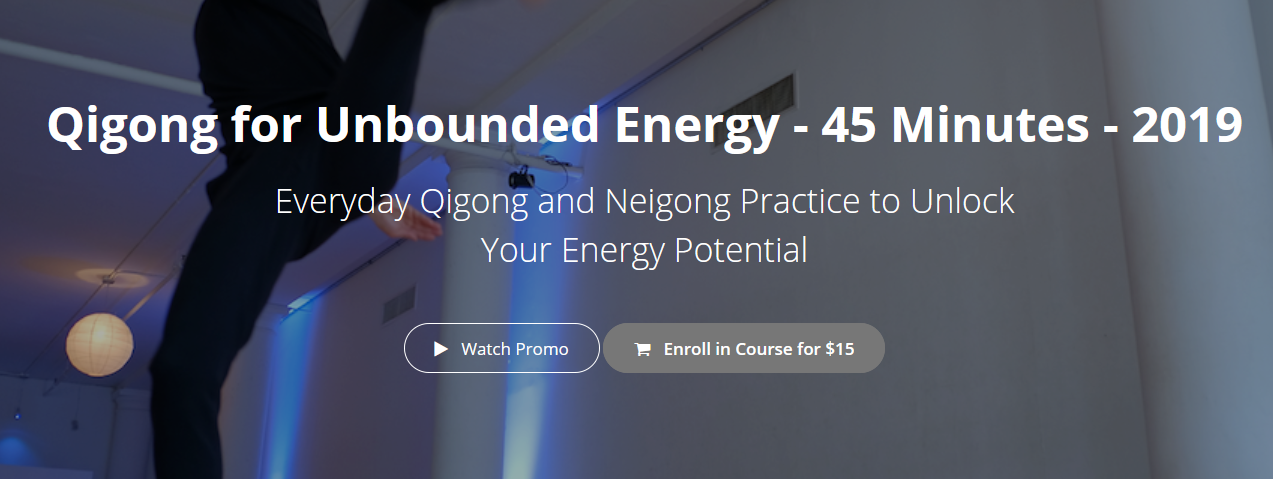 Mike Taylor - Qigong for Unbounded Energy